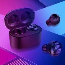 цена на TWS Earphone Bluetooth 5.0 Ture Wireless Earphones Hifi Stereo Waterproof Mini Sports Earbuds Earpods Music Headset