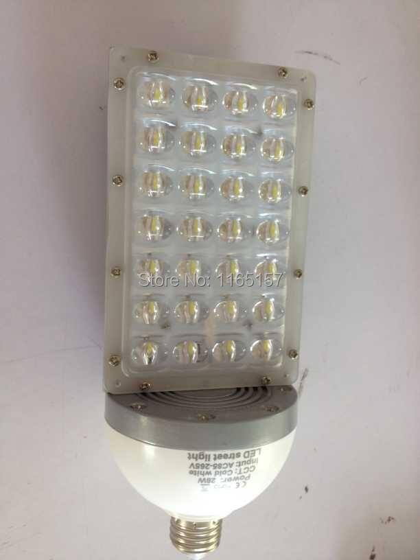 ФОТО Toika Fedex  30w LED Bubble Ball Bulb AC85-265V Great heat sink fins 180 degree  led corn bulb garden light base e27 e40