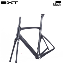 Brand BXT 2016 carbon road bike frames racing bike frame super light aero design carbon road frame BSA/PF30 cycling frameset