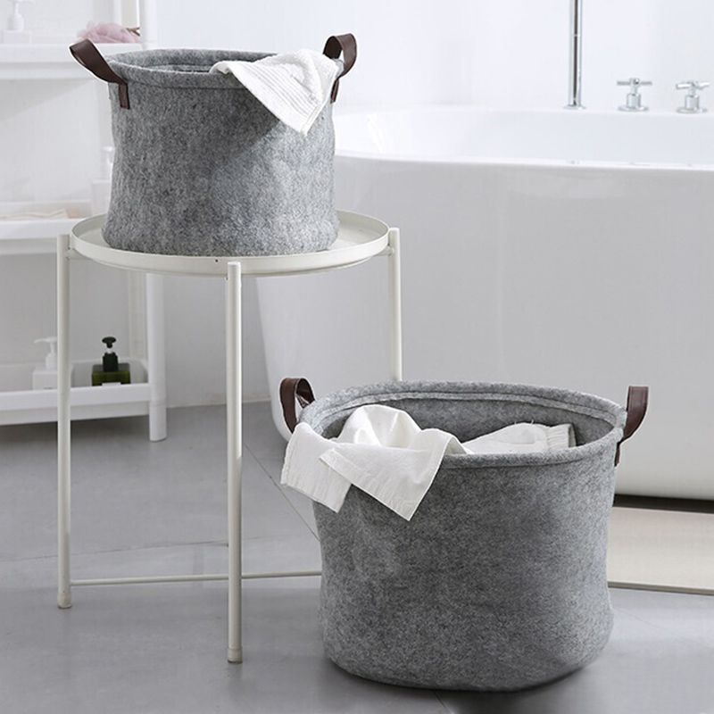 Hot Storage Basket Organizer Convenient Storage Solution For Office Bedroom Laundry XJS789