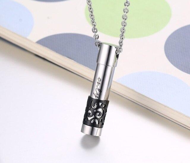 Купить модные ожерелья 4 цветов с открытым флаконом духов подвески