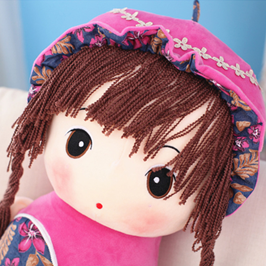 цена на Stuffed Plush Animals Large Ocean Toys Doll Birthday Gift Brinquedo Menina Plush Mermaid Almofadas Toys For Children 50G0478