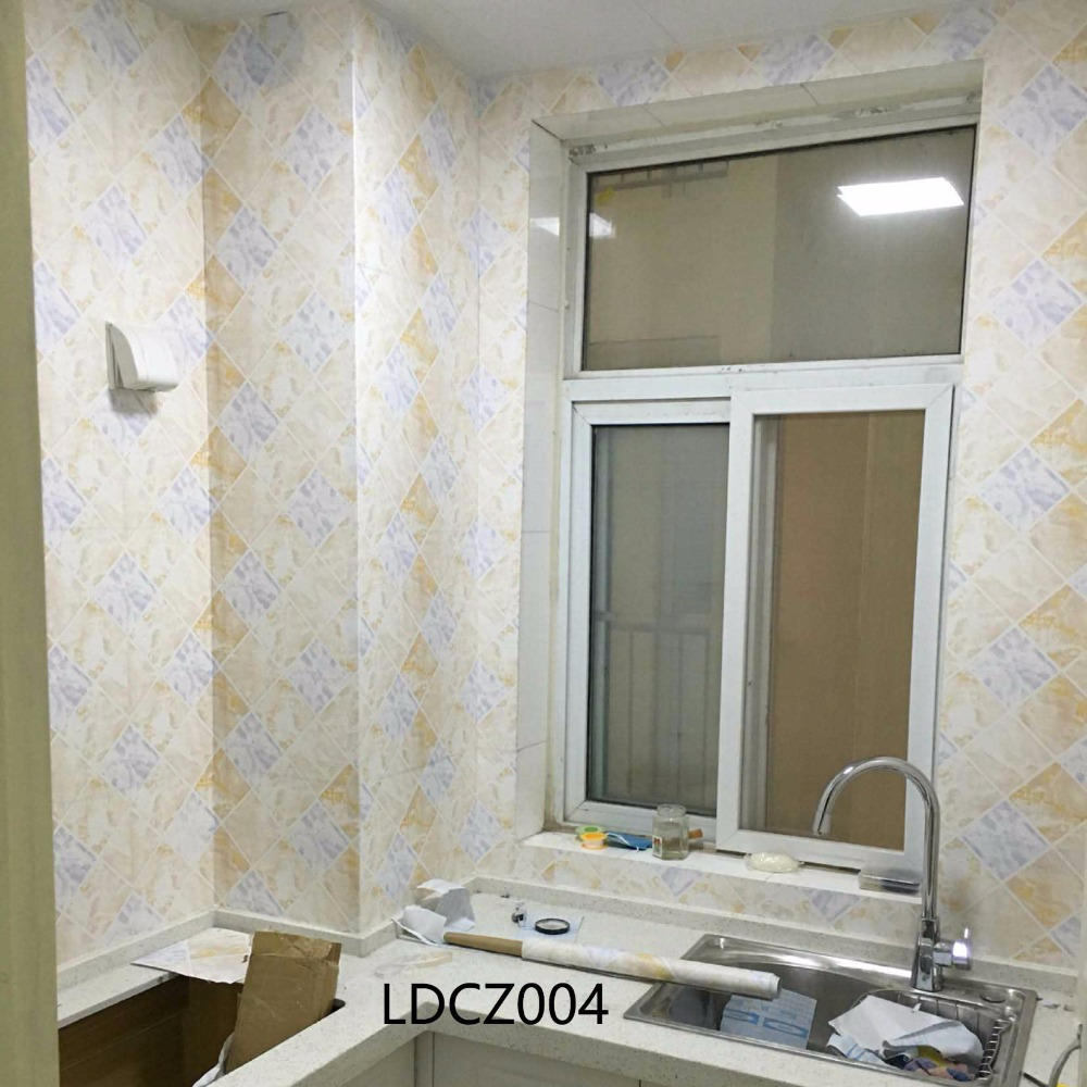 Cheap Wallpaper Mosaic Brick Pattern Self Adhesive Wallpaper Contact Paper  Waterproof Bathroom Kitchen Wall Tile Stickers In Wall Stickers From Home  ...
