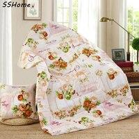 Dobrável Dual-purpose Travesseiro Colchas Multifuncional Cadeira Do Sofá Do Escritório Cochilo Almofada Travesseiro Carro Ar Condicionado Cobertor