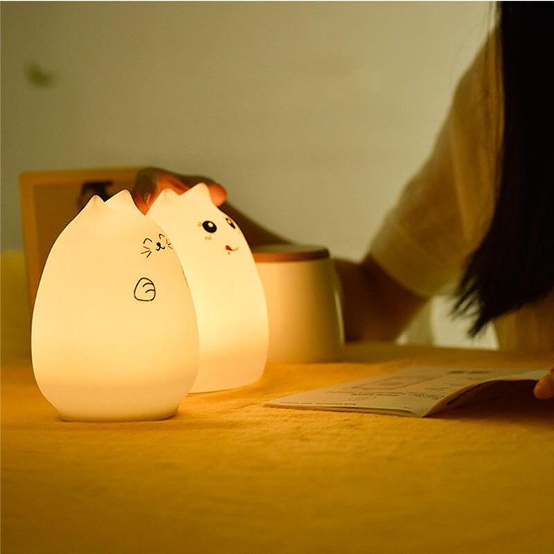 Luzes da Noite light para crianças dos miúdos Bedside Lamp : Bedside Table Light