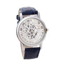 Trendy Engraving Skeleton Watch