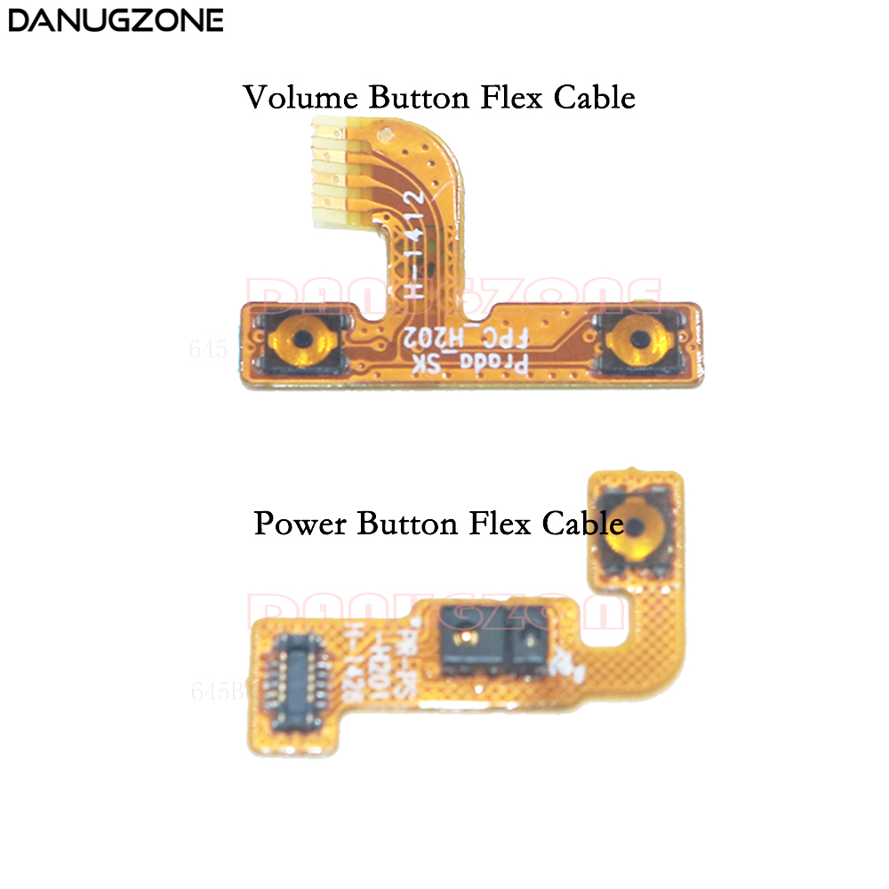 Power Button Switch Volume Button Mute On / Off Flex Cable For Lenovo P780