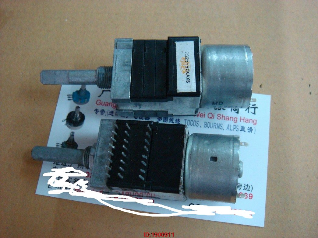 1pcs/lot ALPS RK168 732t B50KX6 6 With Motor Potentiometer 20MMF [without Tapping] In Stock