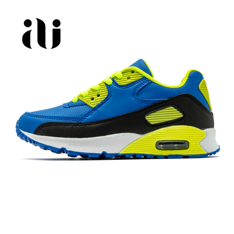 Image 3 - Spring New Kids Pu Leather Shoes Baby Girls Sport Sneakers Children Mesh Shoes Boys Fashion Casual Shoes Soft Brand Trainer 2019-in Sneakers from Mother & Kids