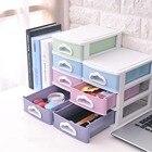 Practical Cosmetics Makeup Tool Organizer Daily Household Stationery Storage Box Case Desktop Holder Multi-layer Drawer