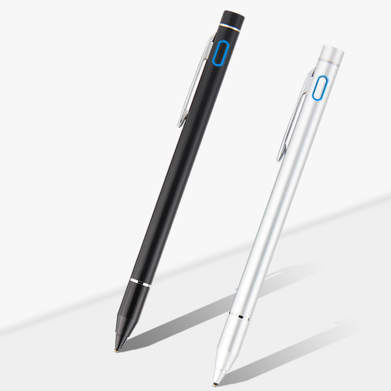 Pen Active Stylus Capacitive Touch Screen For Samsung Galaxy Tab 2 3 4 S Pro 7.0 8.0 8.4 10.5 Note 10.1 Inch Tablet Metal Pencil