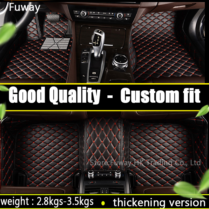Custom fit car floor mats for Land Rover Discovery 4 freelander 2 Sport Range Rover Sport Evoque 3D car styling carpet liner for mazda cx 5 cx5 2nd gen 2017 2018 interior custom car styling waterproof full set trunk cargo liner mats tray protector