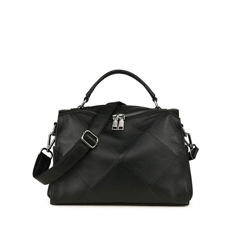 Big size top qualität Leder Männer Tasche Casual Retro Echtes Leder Reisetasche Mode Trend Handtasche Schulter Umhängetasche A4261 - 3