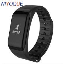 купить F1 Smart Band Smart Bracelet Pedometer Heart Rate Monitor Waterproof Health Tracker Monitor Smart Wristbands for IOS Android по цене 664.34 рублей