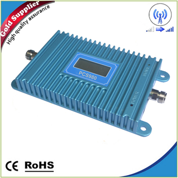 Repeater GSM 1900 Mobile Signal Booster PCS 1900mhz Cell Phone Cellular Repeater ALC 70dB Amplifier
