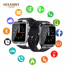 HIXANNY DZ09 Smart Watch With Camera Bluetooth WristWatch Sport Wearable Devices SIM TF Card Smartwatch For IOS Android Phones