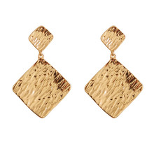 Zinc alloy earrings fashion lady Delicate exaggeration Retro chic girl