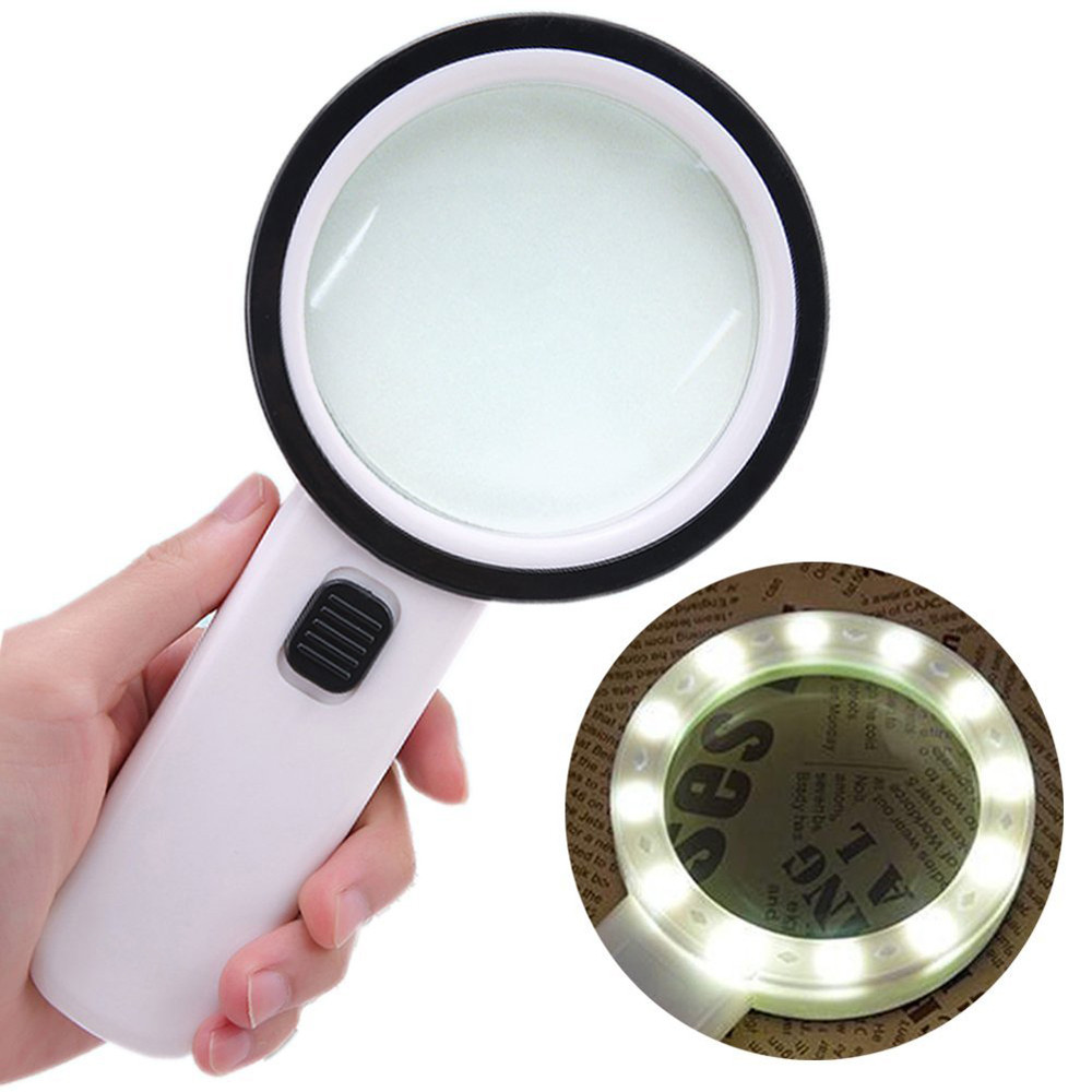 30X High Power Handheld Strong Magnifying Glass Best Jumbo Size Illuminated Magnifier for Reading, Inspection,Exploring30X High Power Handheld Strong Magnifying Glass Best Jumbo Size Illuminated Magnifier for Reading, Inspection,Exploring