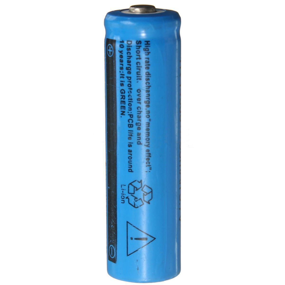 High Capacity <font><b>3.7V</b></font> 18650 <font><b>1000mAh</b></font> <font><b>Battery</b></font> Li Ion Rechargeable <font><b>Batteries</b></font> For Flashlight source image