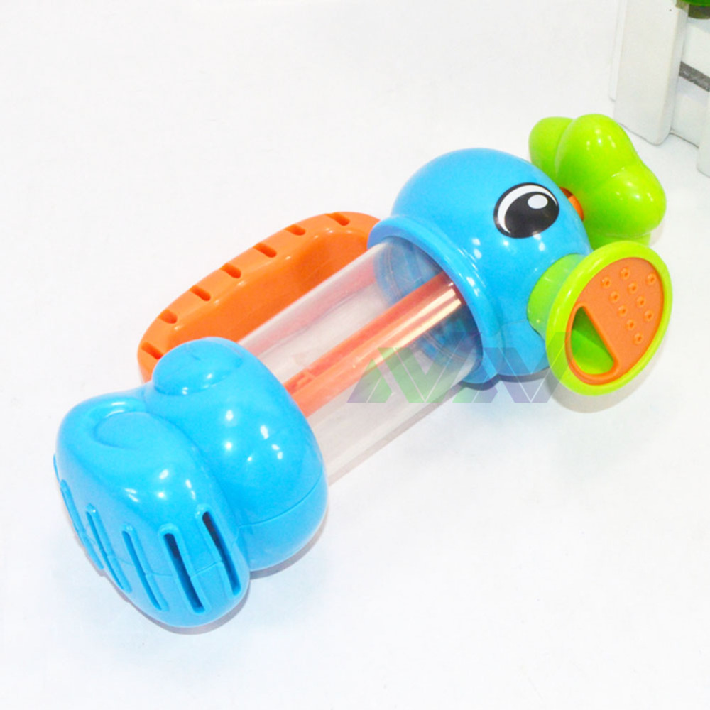 Baby bath toys automatic spout play taps/buttressed folding spray ...