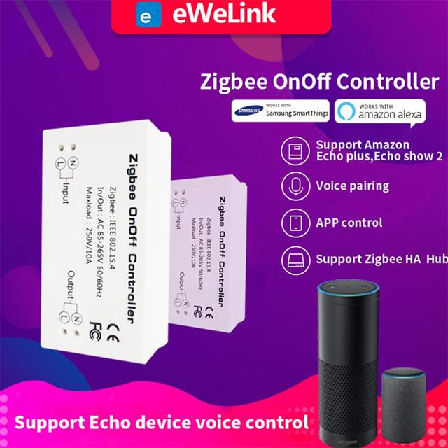 Timethinker Ewelink Zigbee умный дом WiFi переключатель Domotica DIY пульт дистанционного управления Onoff переключатели для Alexa Echo умные вещи концентратор