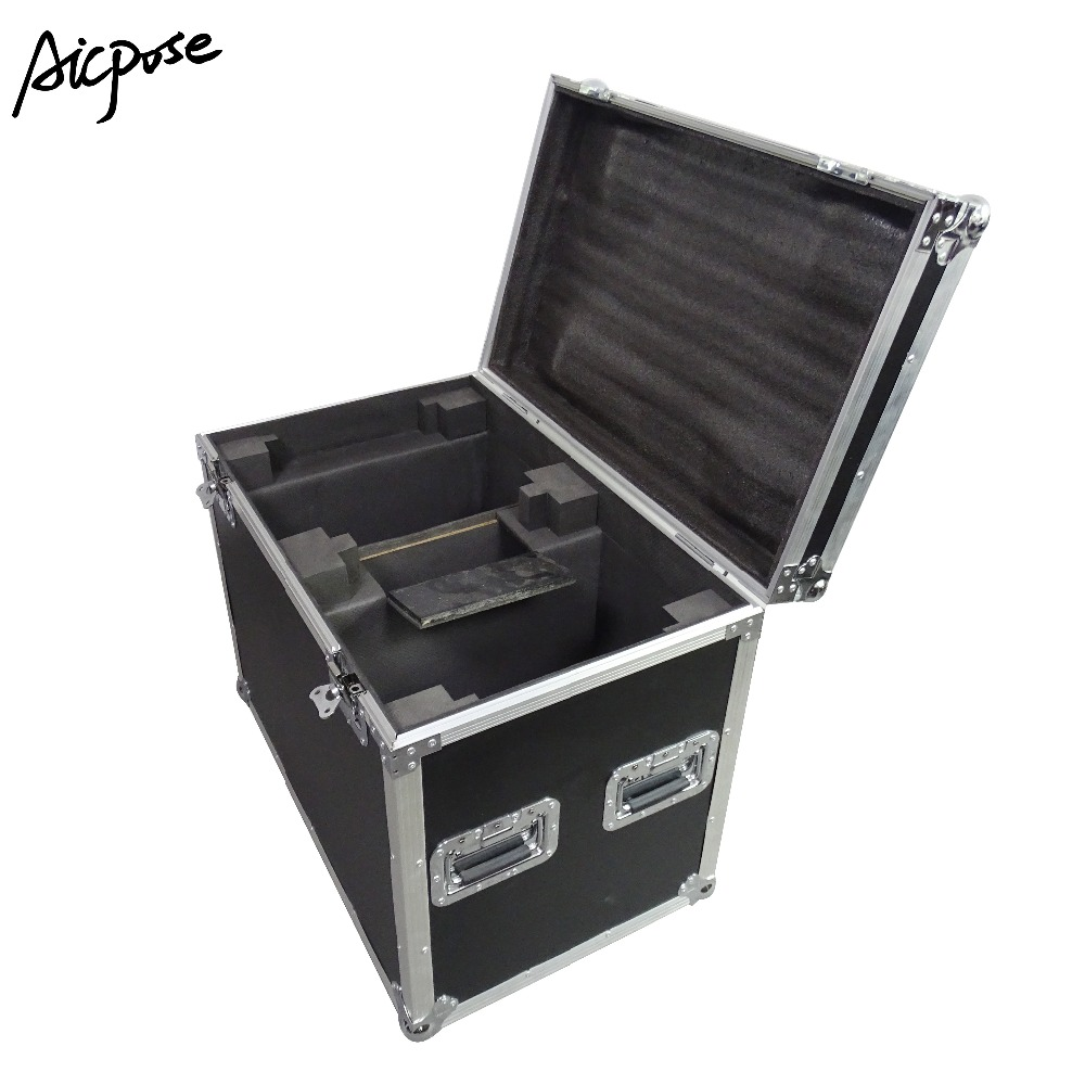 2 In 1 Flight Case For 2pcs 230W Beam 7r  Light LED Moving Head Light Empty Case
