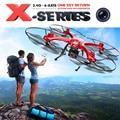MJX X-SERIES X102H 4CH 6-Axis Gyro Altitude Espera Um Retorno RC FPV Quadcopter RTF com WIFI 720 P Câmera C4018 VS MJX X101