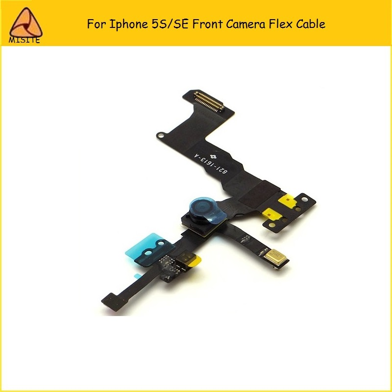 10PCS/Lot High Quality Light Proximity Sensor Flex Cable with Front Facing Camera For iPhone SE/5S Front Camera Flex Wholesale image