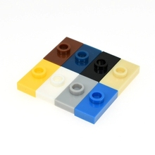Free Shipping!*Plate 1X2 W. 1 Knob*3794 100pcs DIY enlighten block bricks,Compatible With Assembles Particles