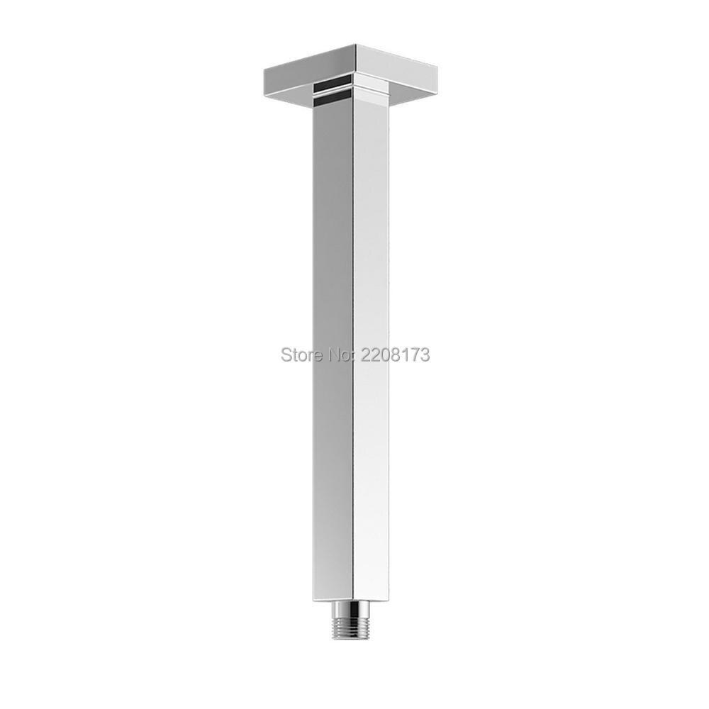 474ec20d74 Smesiteli venta al por mayor y promociones al por menor diseño cuadrado de  cromo cobre Bañeras Brazo de ducha oculta techo montado 300mm
