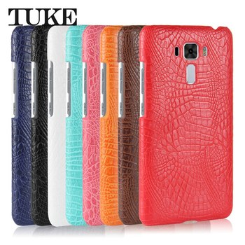 TUKE Case for Asus ZE601KL ZE554KL ZE553KL ZE552KL ZE520KL ZE500KL ZD551KL ZC554KL ZC553KL ZC551KL Crocodile Pattern PC Cover image