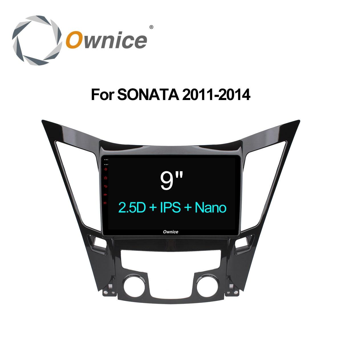 Ownice 9 Octa Core 2G + 32G lecteur DVD de Voiture radio headunit stéréo pour Hyundai Sonata 2011-2014 audio android gps navi 4G LTE