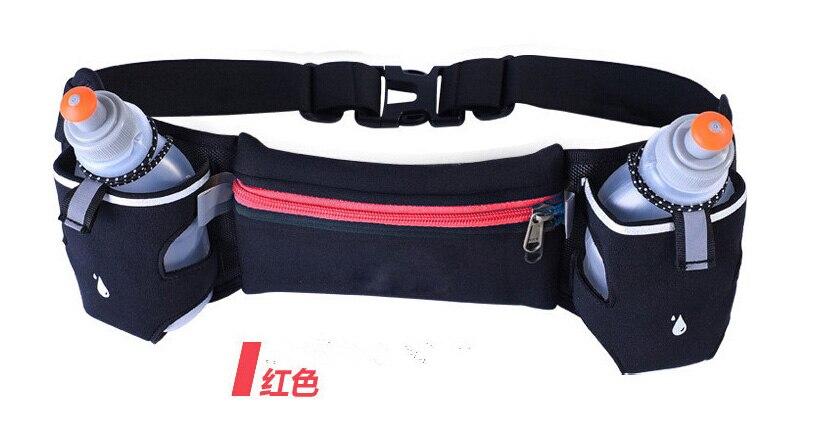 Prix pour Unisexe Lumière poids Taille Sac Hommes Femmes pour je téléphone 5S se Placer Mobile Courir Jogging Pack Ceinture Sac Sport En Plein Air Taille voyage