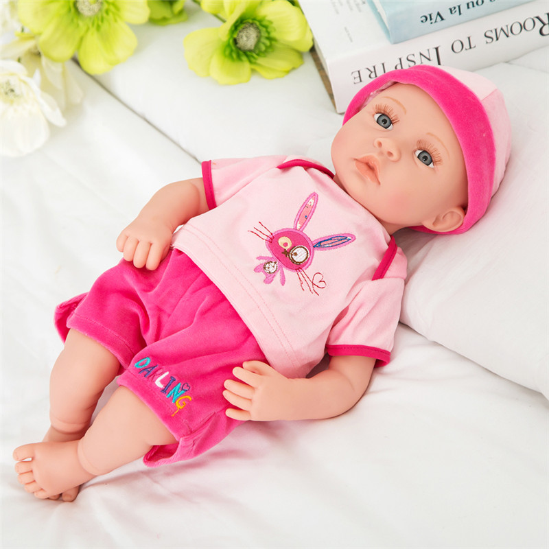Girl's Favorite Princess Sweet Doll Reborn Best Friend Play with Girls 3D Eyes Doll Toys Best Birthday Gift DIY Baby born doll girls at our best girls at our best pleasure