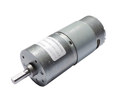 DC 24V 60RPM Soldering 37mm Diameter Geared Box Speed Reduction Mini Motor  dc 12v 60rpm 2 terminals connectortorque speed control geared motor
