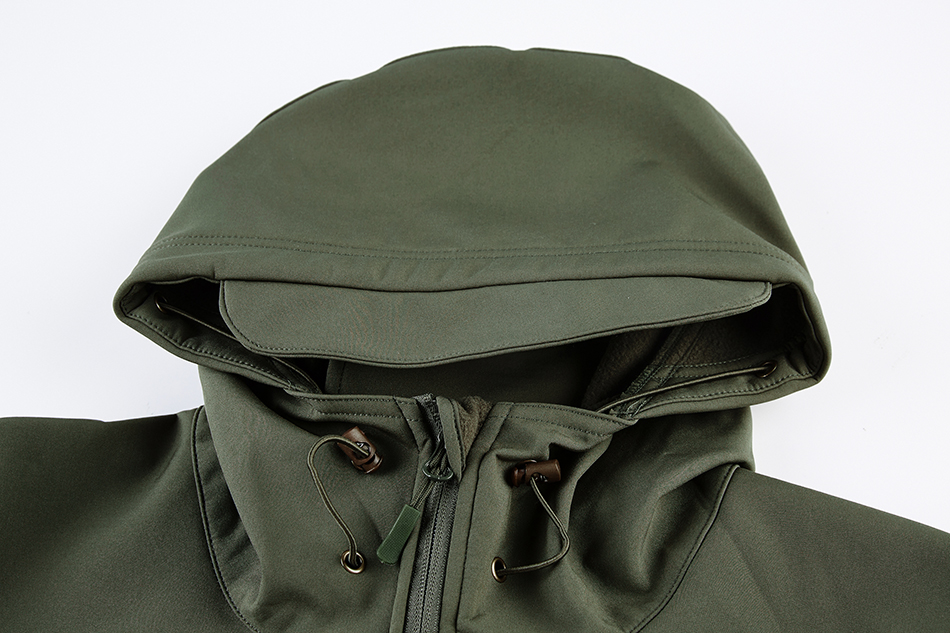 S.ARCHON Shark Skin Soft Shell Tactical Military Jacket Men Fleece Waterproof Army Clothing Multicam Camouflage Windbreakers Men 16