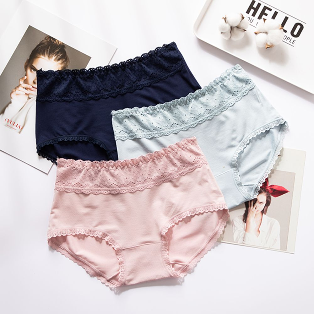 Sexy Shorts Lace Panties Fashion Tempting Pretty High Quality Cotton Low Waist Cute Soft Breathable Panties For Women