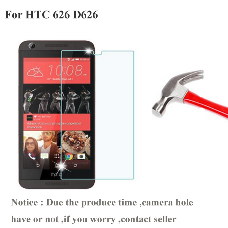 2PCS For HTC Desire 626 650 Dual Sim Tempered Glass Film 2.5 9h Protective Screen Protector on 626s D626W D626n D626d Film