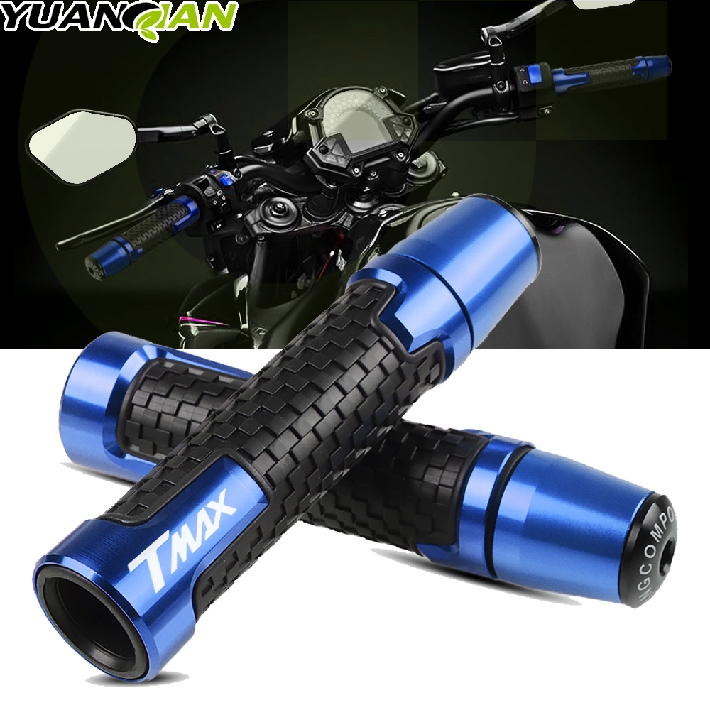 For Yamaha TMAX 500 2008-2012 TMAX 530 2013-2016 CNC Street & Racing Moto Racing Grips Motorcycle Handle And Ends Handlebar Grip