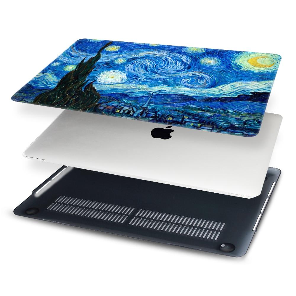 Starry Night Laptop Case for Macbook Pro 13 15 Case A1706 A1708 A1707 - Նոթբուքի պարագաներ - Լուսանկար 2