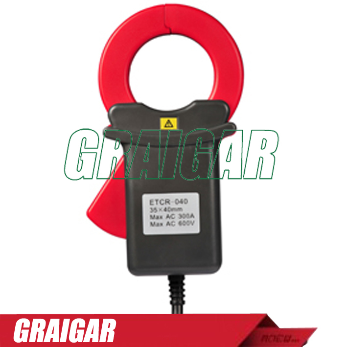 ETCR040 High Accuracy Clamp AC leakage current tester etcr030 high accuracy clamp leakage current sensor