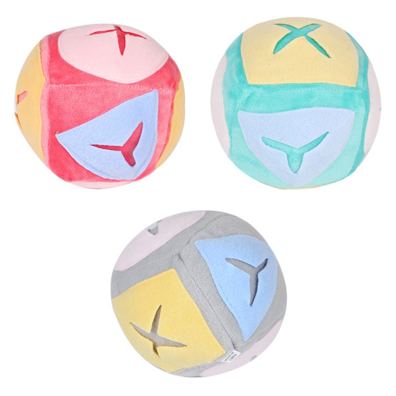 Pet Dog Cat Chew Toys Soft Fleece Sniffing Educational Play Balls For Dogs Outdoor Training Pet Dog Accessories Toys Hot Sale