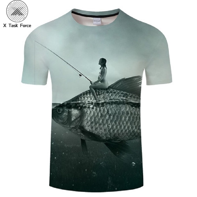 65abefd3d325 NEW Love Go Fish Keep Arapaima Crap Catfish Tee 3D Print t shirt Hoodie