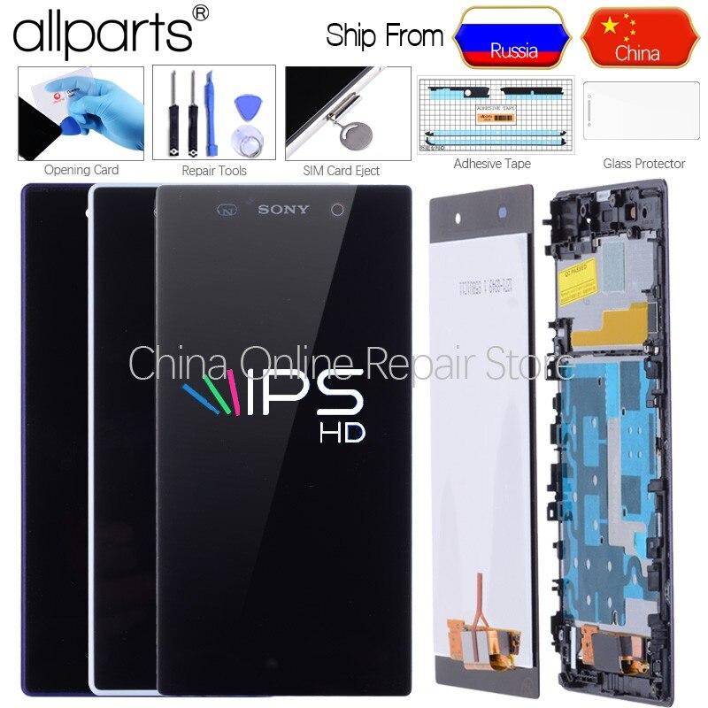 5,0 ''Original LCD Für SONY Xperia Z1 Display Touchscreen mit Rahmen Für SONY Xperia Z1 Display L39 L39H c6902 C6903 Z1 LCD
