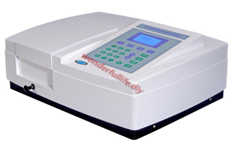 UV/VIS Spectrophotometer optical system and electric circuit design DNA/Protein Test UV-5500PC UV Vis Spectrophotometer