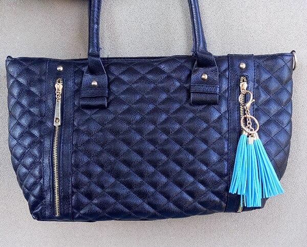 tassels for keychain,suede fringe tassel,tassle bag,heart tassels,Love tassels. 10Pcs 85mm leather tassel,Navy Blue Suede tassels