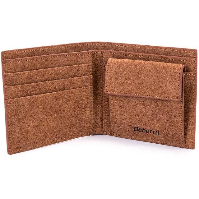 2019 Fashion Rfid Men Wallets Mens Wallet with Coin Bag Zipper Small Mini Wallet Purses New Design Dollar Wallet Slim Money Bag 2