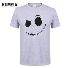 2018 New Fashion Brand Men T-shirt Casual Cotton T-Shirt Men Short Sleeve Slim Fit O-Neck Tees Printed Male camisa masculinas(China)