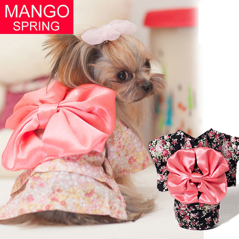 371544c5b6c03 top 8 most popular dog clothes bow print ideas and get free shipping ...