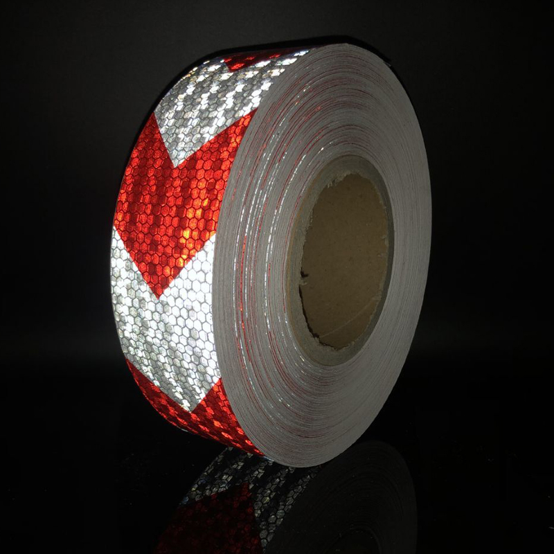 5cmx5m  Reflective Bicycle Stickers Adhesive Tape For Bike Safety White Red Yellow Blue Bike Stickers Bicycle Accessories
